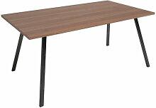 Bobochic - Table BOBBIO 160x90 cm Chêne - Chêne
