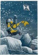 BOBOCHIC Tapis enfant CUTY 9 Bleu 120x170