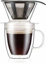 Bodum POUROVER Set filtre à café individuel et
