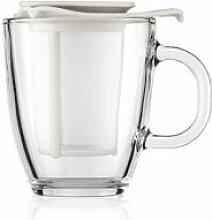 Bodum YO-YOSET Mug en verre trempé, 0.35 l,