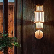 Bois Applique Murale Rétro Art Deco Lampe Murale