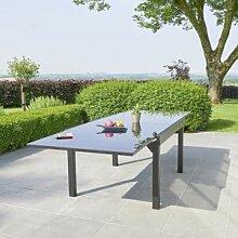 BOIS DESSUS BOIS DESSOUS Table de jardin