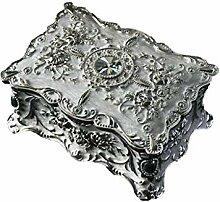 Boîte à bijoux Bijoux Métal Vintage boîte