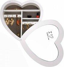 Boîte à bijoux - forme de coeur