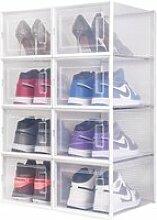 Boîte à chaussures Boîte de Rangement, Lot de