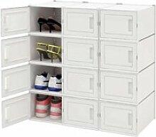 Boîte à Chaussures,Boîte de Rangement pour