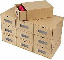 Boîte à Chaussures en Papier Kraft Boîte de