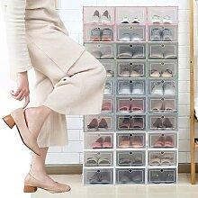 Boîte à chaussures pliable en plastique