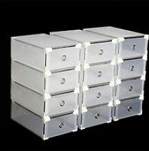 Boîte à chaussures transparente Boîte de