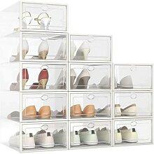 Boîte à chaussures transparente, boîtes de