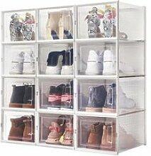 Boîte à chaussures Transparentes en