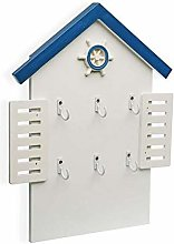 Boîte à clés bleue Sea de la marque Versa.
