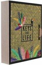 Boite à clés keys for life exotique