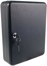 boîte à clés standard (50 crochets) noire