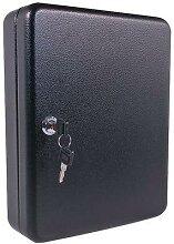 boîte à clés standard (70 crochets) noire