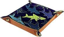 Boîte à dés Shark Sea Violet pour homme et femme