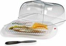 Boîte à fromage avec couteau