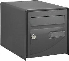 Boîte à lettres Probat simple face Gris Ral7016