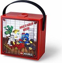Boîte à lunch LEGO NINJAGO avec poignée, boîte