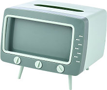 Boîte à mouchoirs TV, boîte de rangement pour