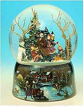 Boîte à Musique/Boule à Neige Musicale de Noël