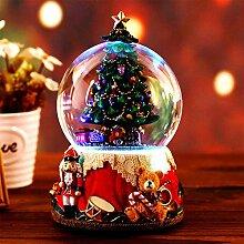 Boîte À Musique D'arbre De Noël - Boule De