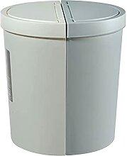 Boîte à ordures La poubelle d'épissage de