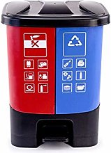 Boîte à ordures Pédale-type poubelle à la