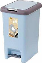 Boîte à ordures Personnalité Pédale Poubelle