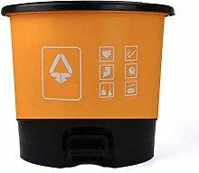 Boîte à ordures Poubelle à pédale avec