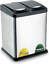 Boîte à ordures Poubelle de classification en