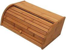 Boîte à pain De cuisine en bois 1 pièce, bac De