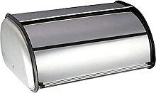 Boîte à pain en acier inoxydable de petite
