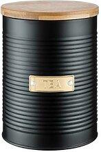 Boîte à thé 1 L noire Typhoon