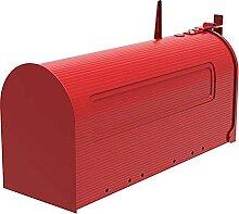 Boîte Aux Lettres Boîte aux lettres de fer rouge