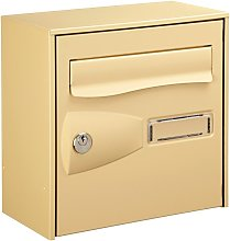 Boite aux lettres citadis beige 1 porte - DECAYEUX