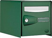 Boite aux lettres DECAYEUX PROBOX 1 porte vert