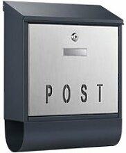 Boite aux lettres design porte-journaux boîte
