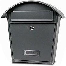 Boîte Aux Lettres Maison Villa Metal Boîte aux