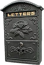 Boîte aux lettres murale rétro vintage