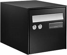 Boîte aux lettres simple face @BOX 300 - Noir -
