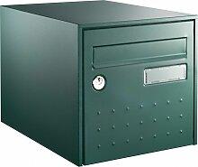 Boîte aux lettres STEEL BOX Double face - Vert -
