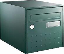 Boîte aux lettres STEEL BOX Simple face - Vert -