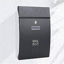Boîte aux lettres verticale verrouillable à