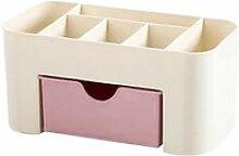Boîte cosmétique de bureau en plastique avec
