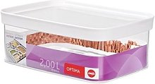 Boîte de conservation rectangulaire Optima 2 L