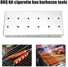 Boîte de fumeur de Barbecue en bois, pour