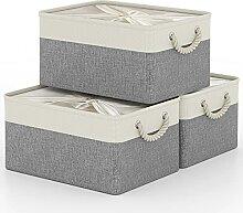 Boîte de Rangement avec Cordons Fermés, Grand