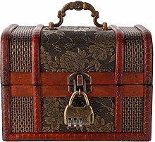 Boîte de rangement de bijoux en bois de cèdre