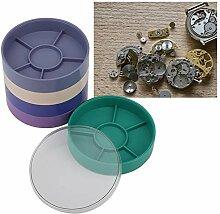 Boîte de rangement de pièces de montre à 5